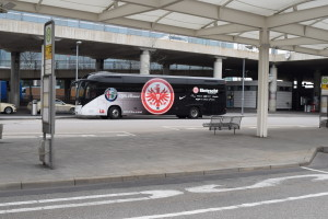 The Frankfurt Team's Coach Spotted at Munich Airport