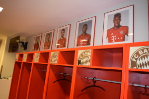 The Players' Changing Rooms
