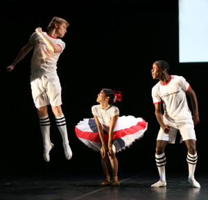 The beautiful game - A Football ballet by English national balle