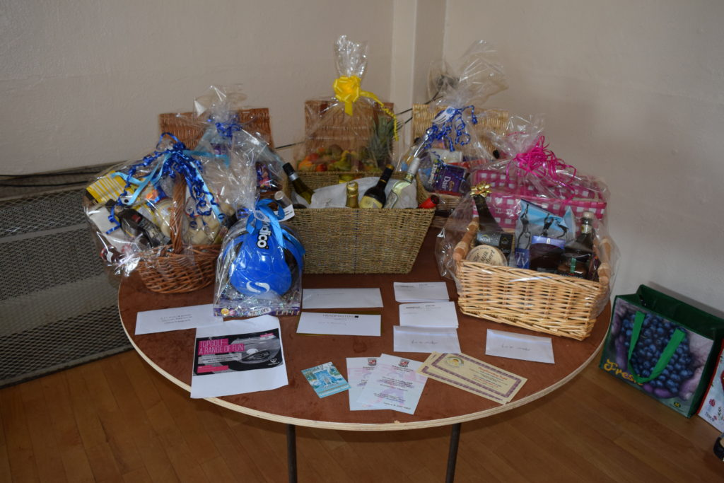 Thanks To All Those Teams Who Donated Prizes for Chrisi and Nick's Raffle