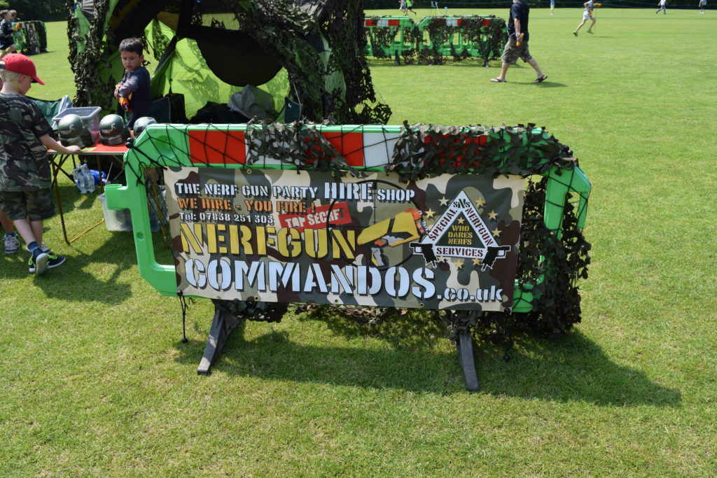 Thanks To Robin and His Team From Nerf Gun Commandos For Their Support