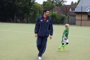 U7 Wolves Coach Martin Twist