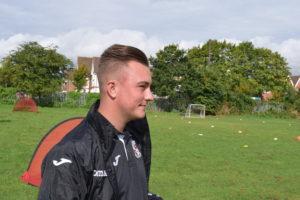 Woking FC Coach Ryan Dent